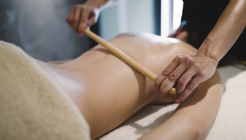 utilizarile betelor de bambus pentru masaj